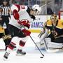 Bleibt auch in den nächsten sieben Jahren bei den New Jersey Devils: Der Schweizer Nummer-1-Draft Nico Hischier unterschrieb einen 50-Millionen-Vertrag