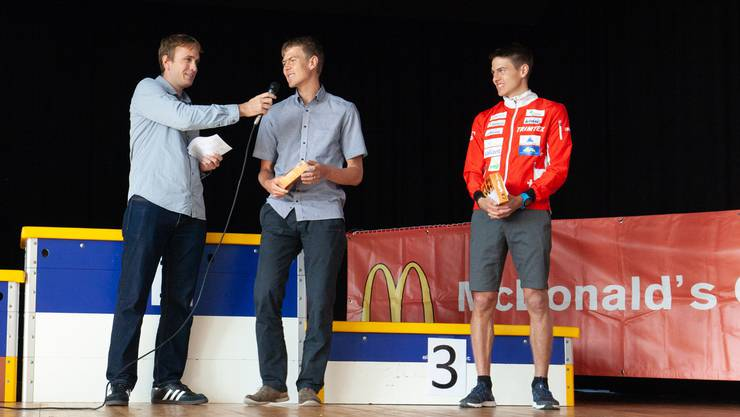 Matthias (r.) und Andreas Kyburz im Interview.
