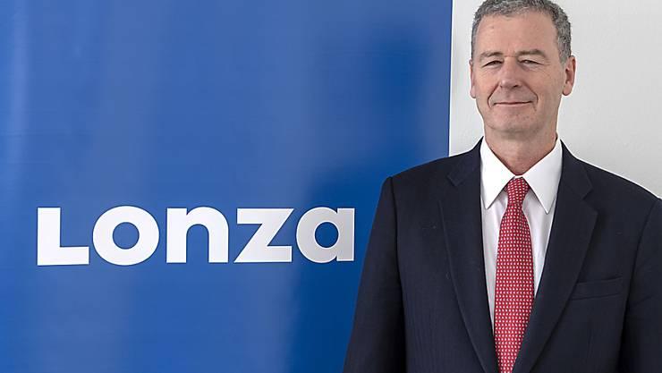 Nach keinem Jahr an der Spitze ist Schluss: Marc Funk räumt den Chefposten bei Lonza. (Archiv)