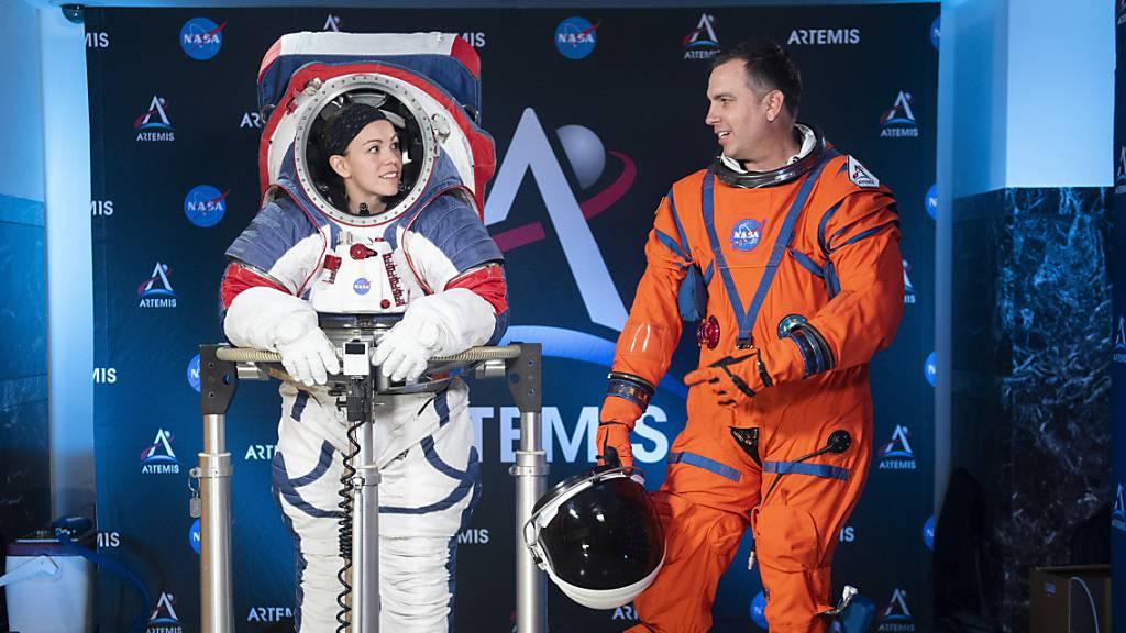 Neuer Raumanzug erlaubt Astronauten geschmeidigen Gang