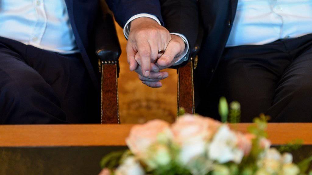 Taiwan führt als erstes asiatisches Land die Homo-Ehe ein. (Symbolbild)