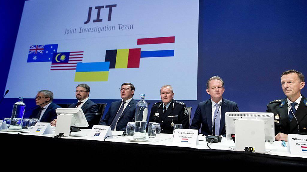 Ukraine-Rebellen für MH17-Abschuss angeklagt