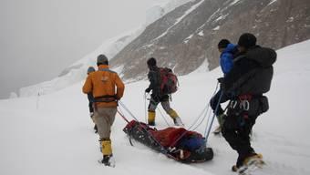 Der Aargauer Bergsteiger musste seine Himal-Expedition abbrechen