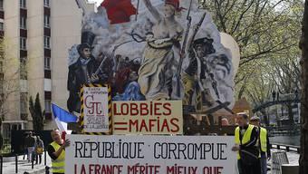 Das halten die Protestierenden in Paris vom Staat und der Regierung von Präsident Emmanuel Macron.
