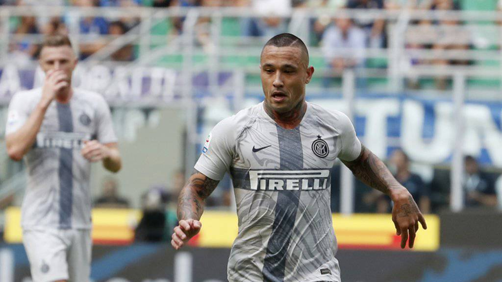 Eine Eskapade zu viel: Radja Nainggolan wurde von Inter Mailand suspendiert