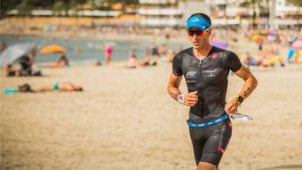 Der Triathlet Fabian Dutli an der Challenge Peguera-Mallorca 2018, seinem persönlichen Sport-Highlight des Jahres.