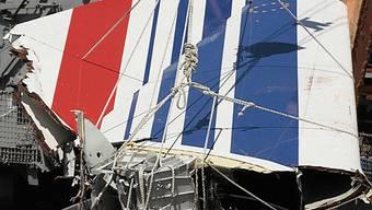 Wrackteil des Airbus, der 2009 über dem Atlantik verunglückte