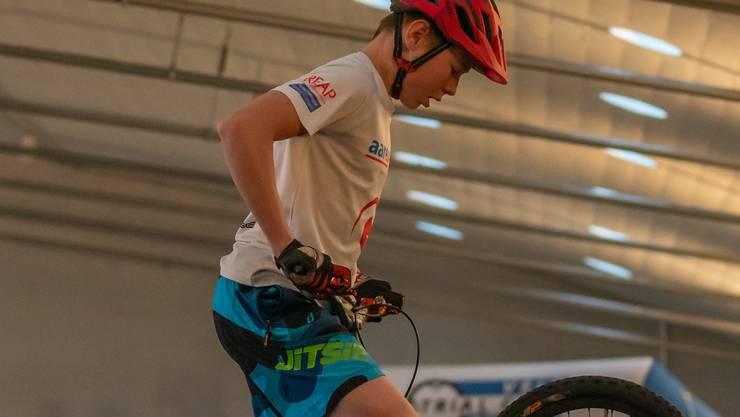 Der Trialist Noel Wipf wird in diesem Jahr zum ersten Mal an der Schweizermeisterschaft teilnehmen.