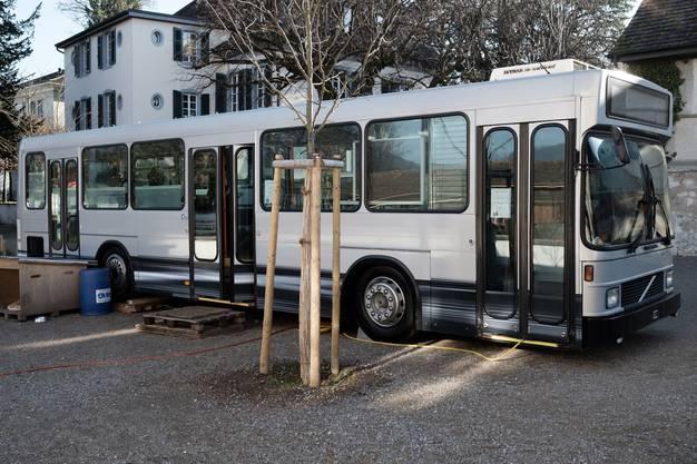 Der Bus im Park