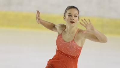 Anna la Porta durfte sich an der Juniorenmeisterschaft über die Silbermedaille freuen.