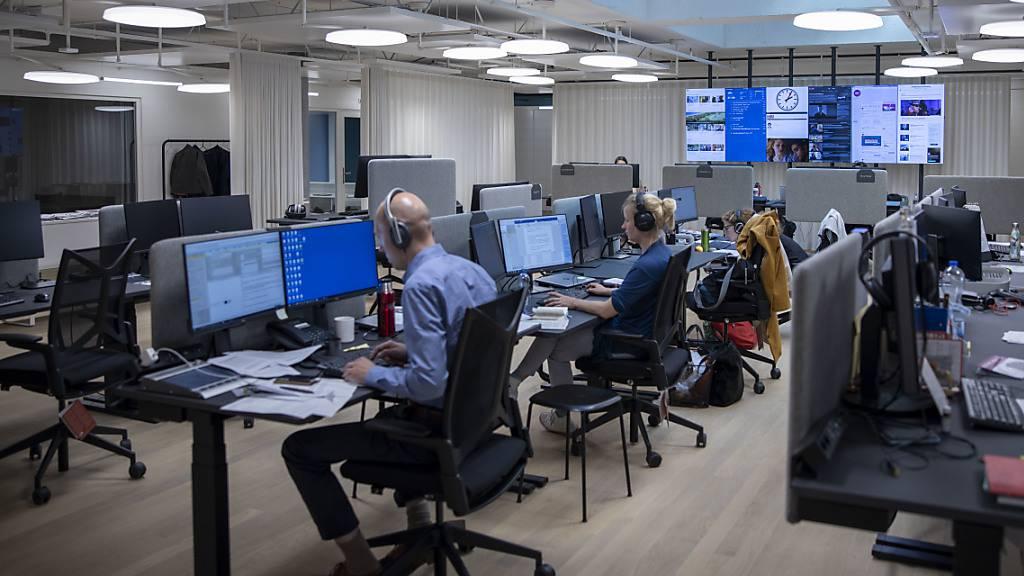SRG ordnet für bis zu 2500 Mitarbeiter Home Office an