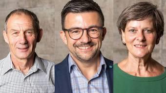 Haben alle drei das Mehr erreicht: Heinrich Rohner, Andi Meier und Esther Käser.