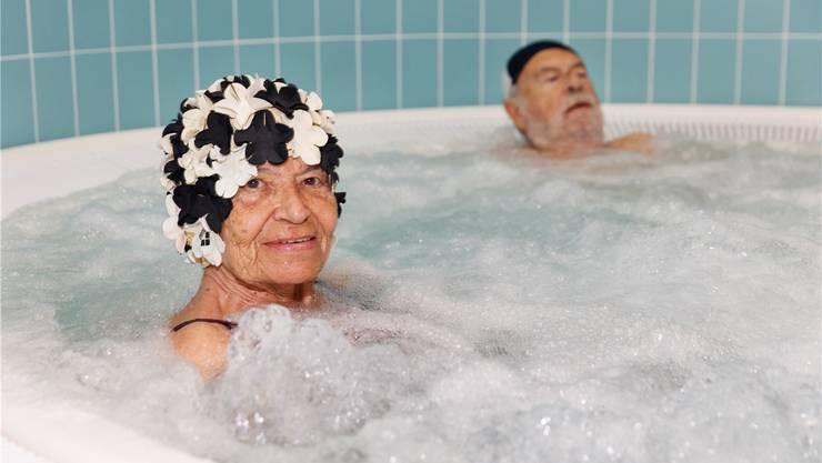 Fröhlich und fit bis ins hohe Alter ist keine Ausnahme mehr. Worte wie Überalterung sind trotzdem nicht angebracht. Martin Parr / Magnum Photos