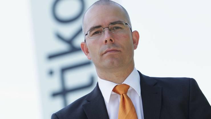 Markus Blocher, CEO der Dottikon ES. (Raphael Hünerfauth)