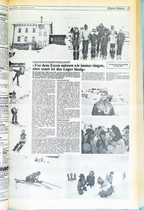 Die Bildseite von der Bündner Rigi, leider ohne Gruppenfoto.