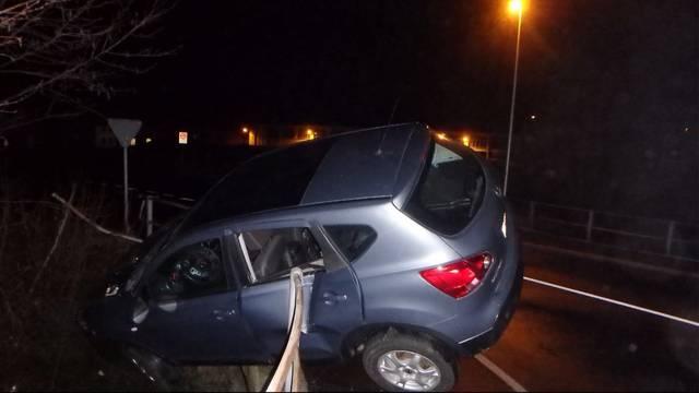 Spektakulärer Unfall in Hunzenschwil