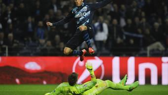 Porto mit Evandro war heute klar die bessere Mannschaft gegen die unterlegenen Basler (mit Vaclik.)