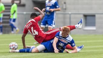Der FC Baden und der FC Wohlen kämpfen beide um einen Platz für die Aufstiegsspiele.