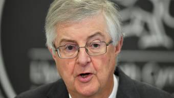 ARCHIV - Der walisische Regierungschef Mark Drakeford. Foto: Ben Birchall/PA Wire/dpa