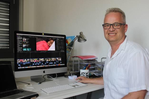 Lukas Eggenberg, TV- und Videojounalist aus Grenchen, hat den Film realisiert.