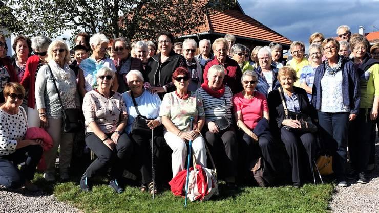 Die Teilnehmenden der Frauenbund - Reise vom 10.09.2019