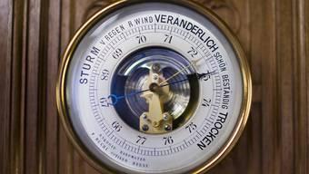 Der Luftdruck über Mitteleuropa ist derzeit überdurchschnittlich hoch. (Themenbild)