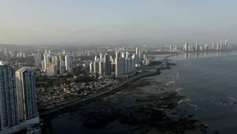 Skyline von Panama City, wo einer der grössten Steuerskandale der Geschichte aufflog: Die Panama Papers sollen nun auf die Leinwand kommen.