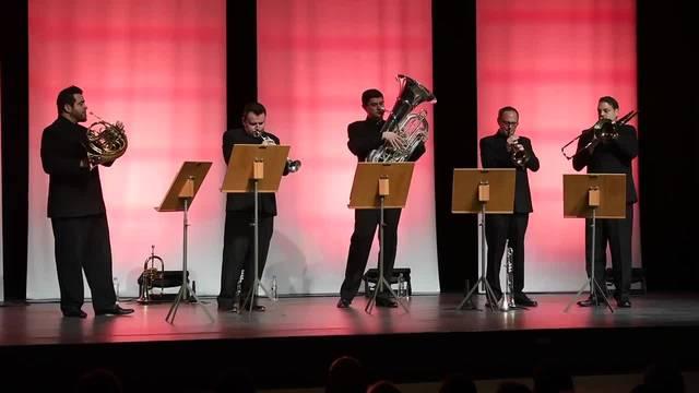 Internationale Musikwoche Grenchen mit Boston Brass im Parktheater