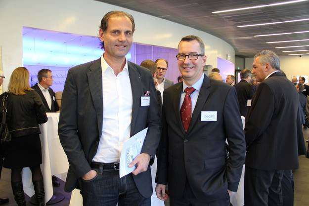 Daniel Löhr (Engineerig Managment Selection E.M.S. AG), Fredi Pahr (Alpiq InTec Ost AG)