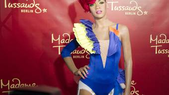 Popstar Rihanna in Wachs