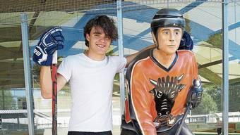 Beim EHC Urdorf begann Sandro Koster seine Eishockey-Karriere.