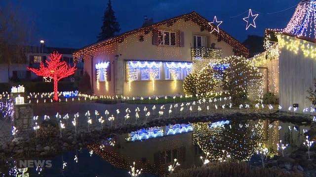 Außergewöhnliche Weihnachtsbeleuchtung.Weihnachtszauber In Lyss Telebärn News Telebärn