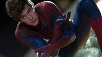 Der Spinnenmann: Andrew Garfield schlüpft in die Rolle von Peter Parker (Archiv)