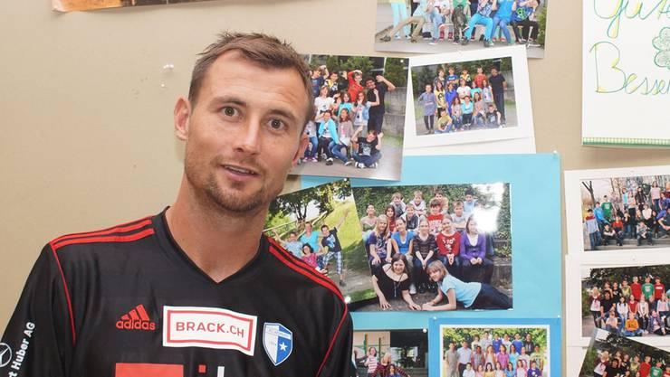 Michael Winsauer verabschiedet sich von der Fussball-Bühne. Ihn trifft man fortan im Lehrerzimmer