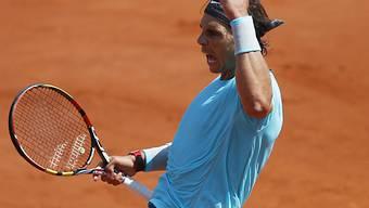 In Paris einmal mehr ungefährdet: Rafael Nadal