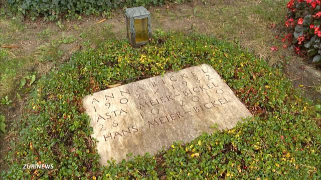 Helle Empörung über Grabstreit