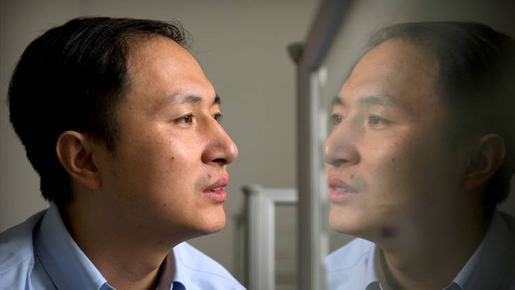 Der Erfinder der ersten Designer-Babys, Gentechnologe He Jiankui, muss seine Arbeit niederlegen.