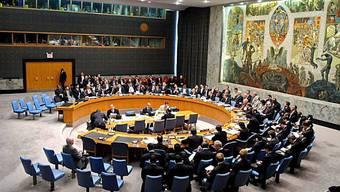 UNO-Sicherheitsrat muss entscheiden