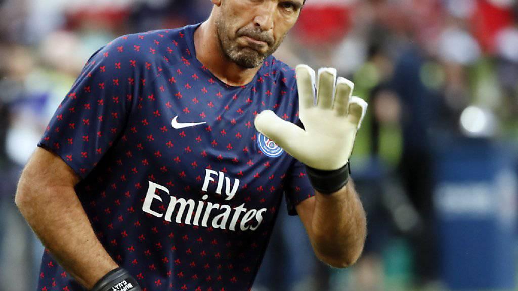 Hat bei Paris Saint-Germain keine Zukunft: Italiens 41-jährige Goalie-Ikone Gianluigi Buffon