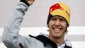 Vettel darf weiterjubeln: Bald steht vor seinem Haus ein neuer Swimmingpool (Archiv)