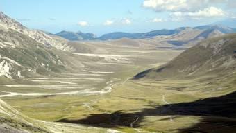 Campo Imperatore - 80 Quadratkilometer naturgeschützte Hochebene