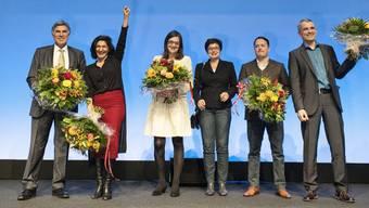 Hauchdünner Triumph Sibel Arslan (Zweite von links) schnappte sich 2015 den fünften Sitz.
