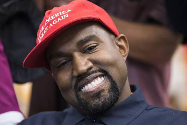 Im Oktober 2018 bei seinem Besuch im Weissen Haus war er noch auf Trumps Seite: Der US-Rapper Kanye West will jetzt selber US-Präsident werden.