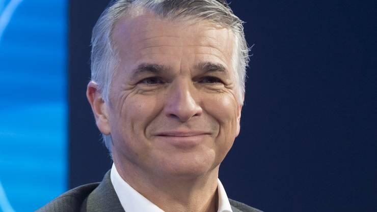 Der scheidende UBS-Chef Sergio Ermotti.