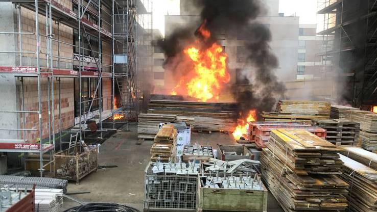 Es hätte noch viel schlimmer kommen können: Der Brand am  22.12.2017 in der Überbauung Verdin in Muri.