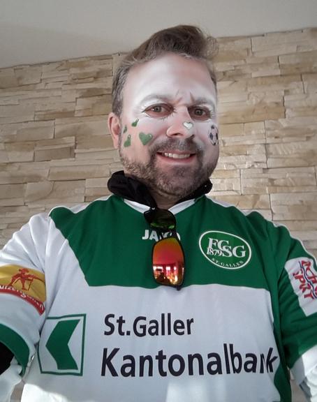 Adrian Osterwalder, FCSG-Fan, war am Spiel gegen Zürich dabei.