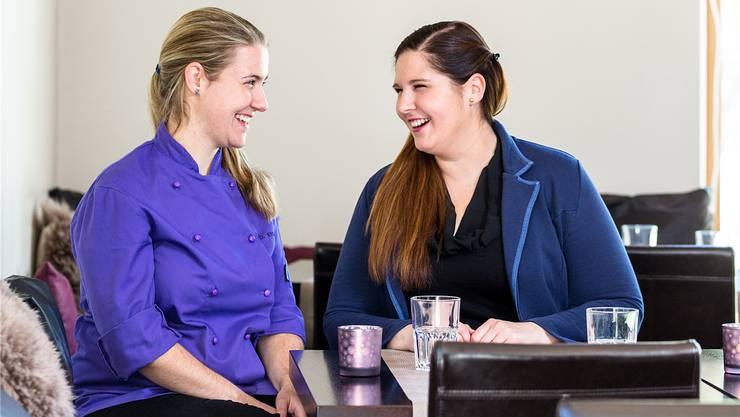 Daniela (l.) und Romina Ettisberger sind in der Gastronomie aufgewachsen.Sandra Ardizzone