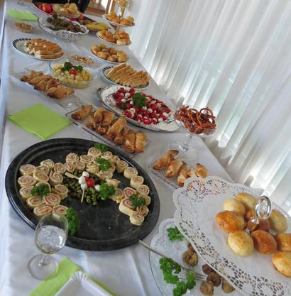 Das Frauenmorgen-Team Kölliken verwöhnte seine Gäste mit feinen selbstgemachten Köstlichkeiten