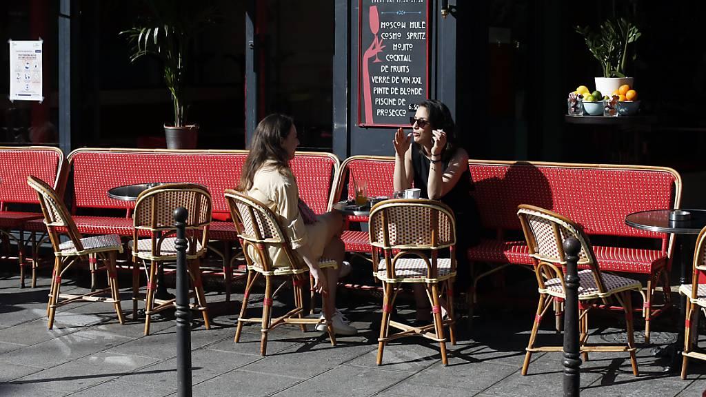 Gastronomie in Frankreich wieder geöffnet
