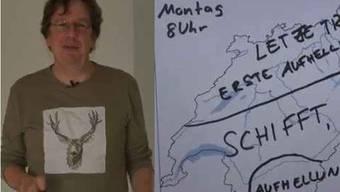 Kachelmann präsentiert Youtube-Wetter